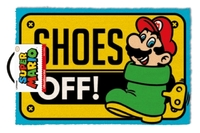 Super Mario - Shoes Off Colour Door Mat
