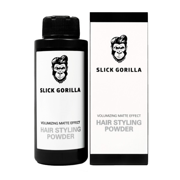 Slick Gorilla Hair Styling Powder - Volumising Matte Effect (20g)