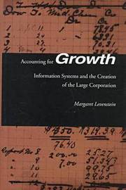 Accounting for Growth by Margaret C. Levenstein
