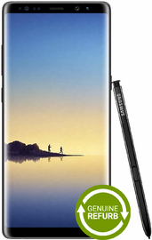 Samsung Galaxy Note 8 (64GB/6GB RAM) - Midnight Black [Genuine Refurbished] image