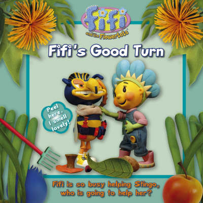 Fifi's Good Turn: Read-to-me Scented Storybook image