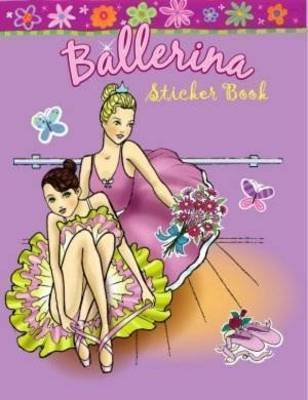 Ballerina Sticker Book by Pancake
