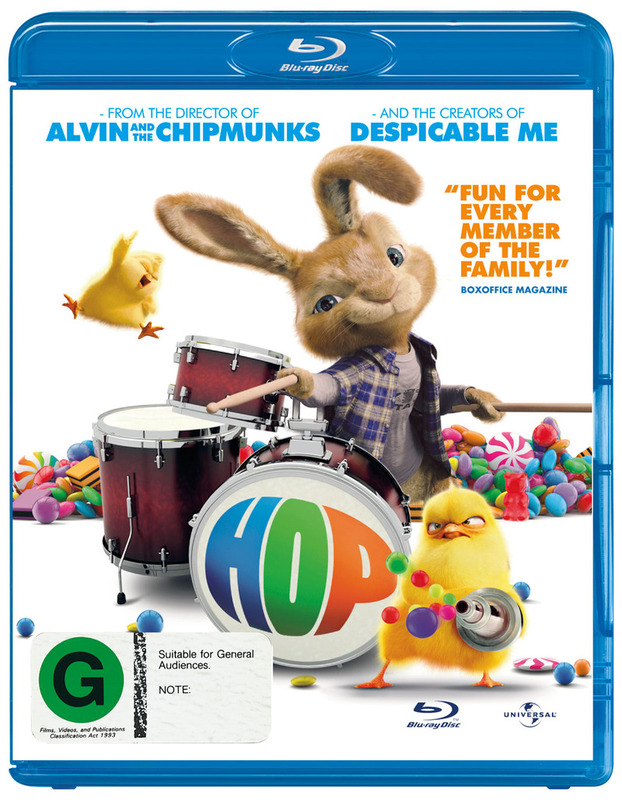 Hop on Blu-ray