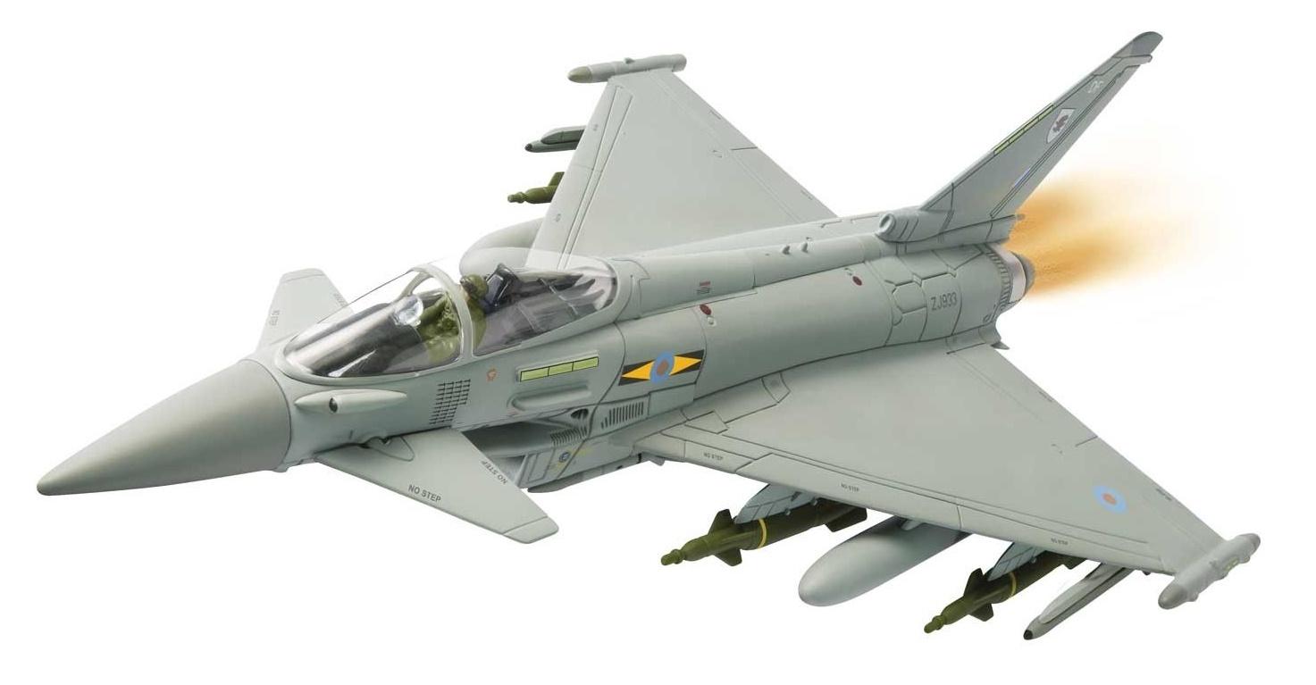 Corgi: 1/72 Eurofighter Typhoon, 'Operation Ellamy', Libya, 2011 image
