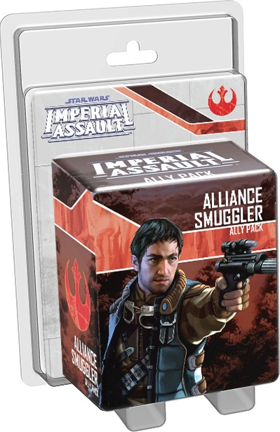 Star Wars: Imperial Assault: Alliance Smuggler Ally Pack