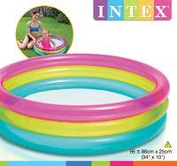 Intex: Rainbow Baby Pool