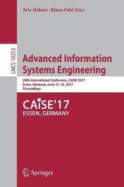 Advanced Information Systems Engineering image
