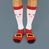 Festive Socks - Santa