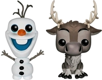 Frozen - Olaf & Sven Pop! Vinyl 2-Pack