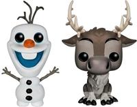 Frozen - Olaf & Sven Pop! Vinyl 2-Pack