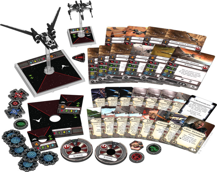 Star Wars X-Wing: Saw's Renegades Expansion Pack image