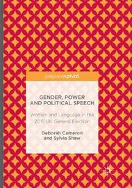 Gender, Power and Political Speech by Deborah Cameron image