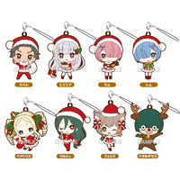 Re:Zero - Starting Life in Another World: Trading Rubber Strap -Christmas Ver. - Blind Box