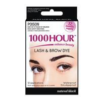 1000 Hour Eyelash Tint - Black