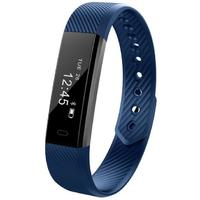 Smart Fitness Tracker Bands w/ Heart Rate Monitor - Blue