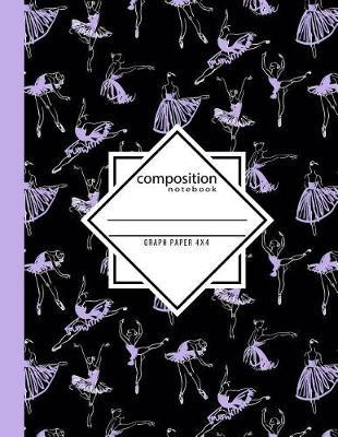 Composition Notebook Graph Paper 4x4 by In Motion Paper Press