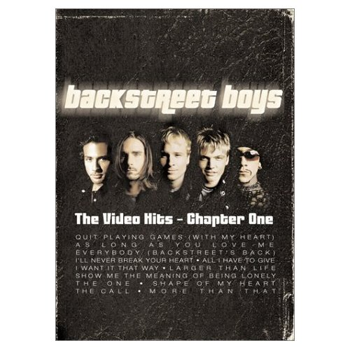 Backstreet Boys - The Greatest Video Hits: Chapter One on DVD image