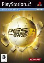 Pro Evolution Soccer 6 for PlayStation 2