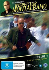 Inspector Montalbano - Vol. 3 (2 Disc Set) on DVD
