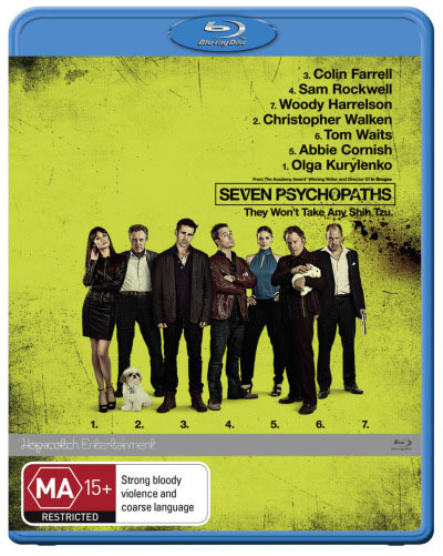Seven Psychopaths on Blu-ray