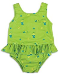 Nappy Swimsuit Lime (XL 12-15kgs)