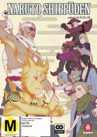 Naruto Shippuden - Collection 26 (Eps 323-335) on DVD