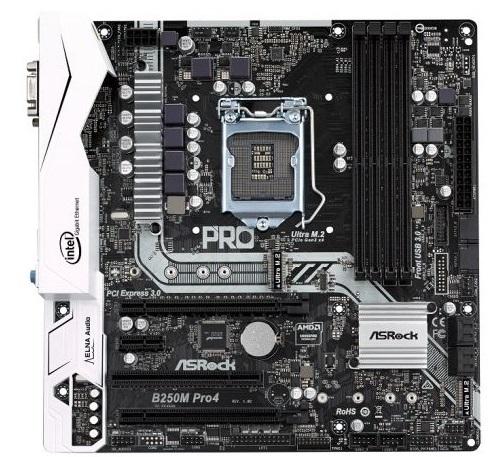 ASRock B250M Pro4 Motherboard image