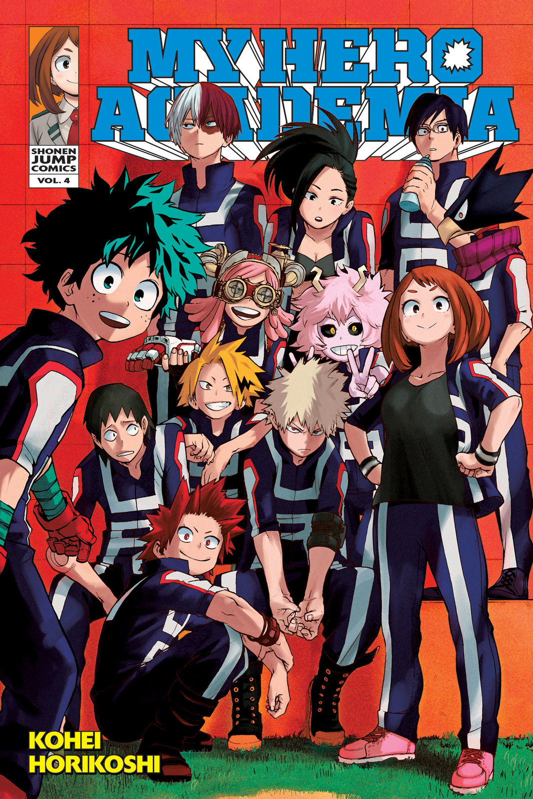My Hero Academia, Vol. 4 by Kohei Horikoshi image