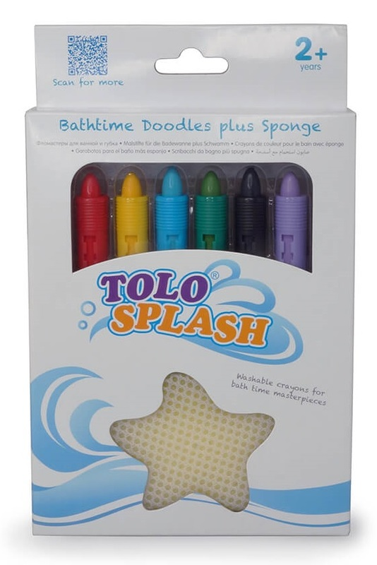 Tolo Toys: Bath Time Doodles with Sponge
