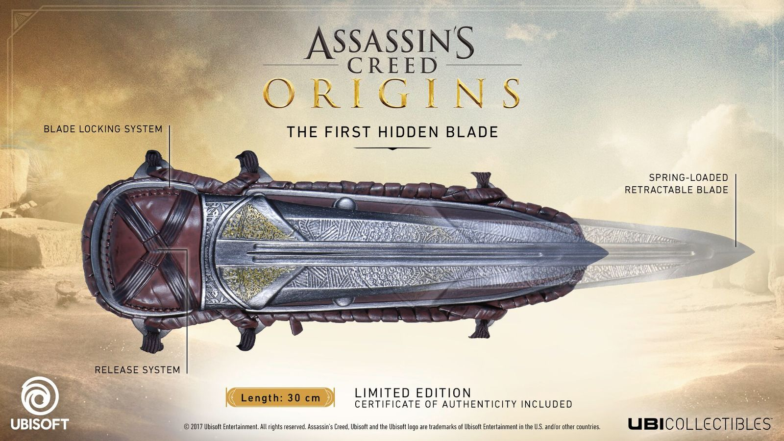 Assassin's Creed Origins: Hidden Blade - Life Sized Replica image
