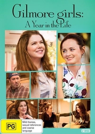 Gilmore Girls: A Year In a Life on DVD image