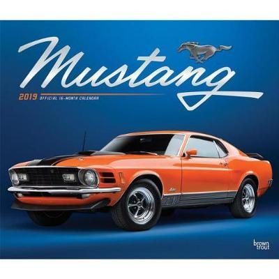 Mustang 2019 Deluxe Foil by Inc Browntrout Publishers image