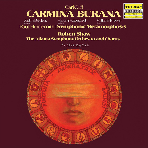 Orff: Carmina Burana / Robert Shaw/Atlanta Symphony Orchestra and Chorus, Soloists: Judith Blegen, Hakan Hagegard and William Brown by Orchestre Symphonique De Montreal