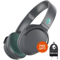 Skullcandy: Riff Wireless On-Ear Headphones - Grey/Speckle/Miami