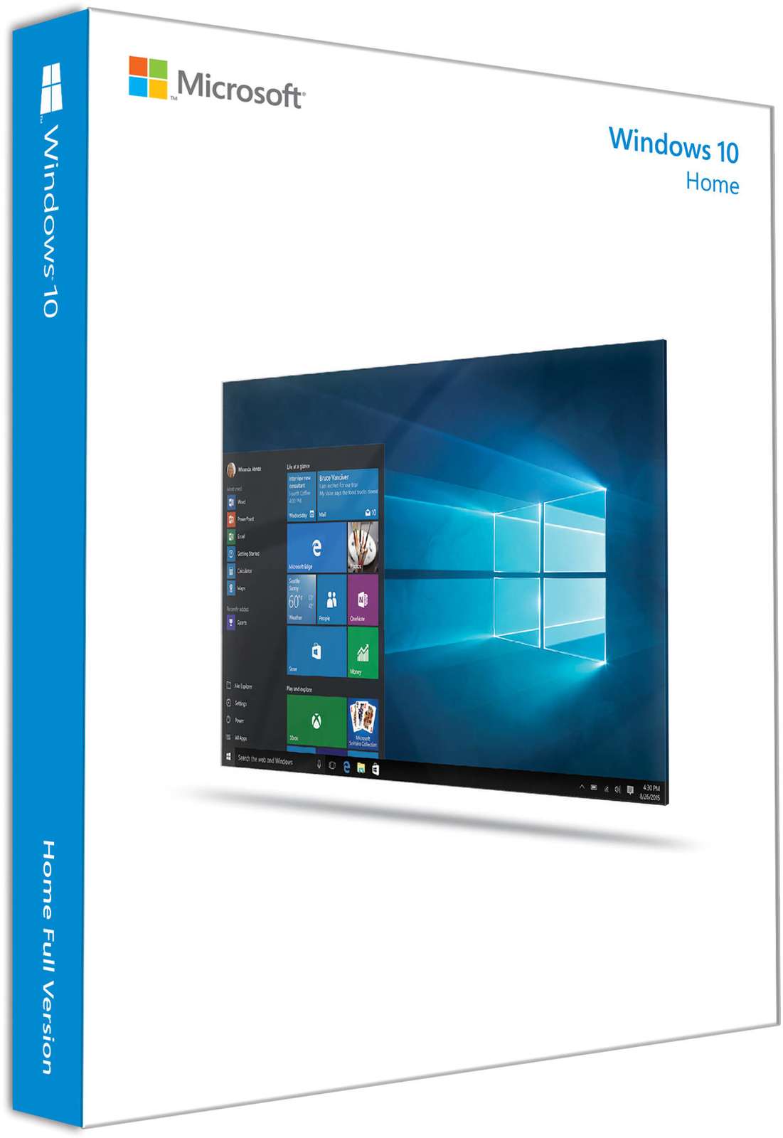 Microsoft Windows 10 Home 64-bit (OEM) image