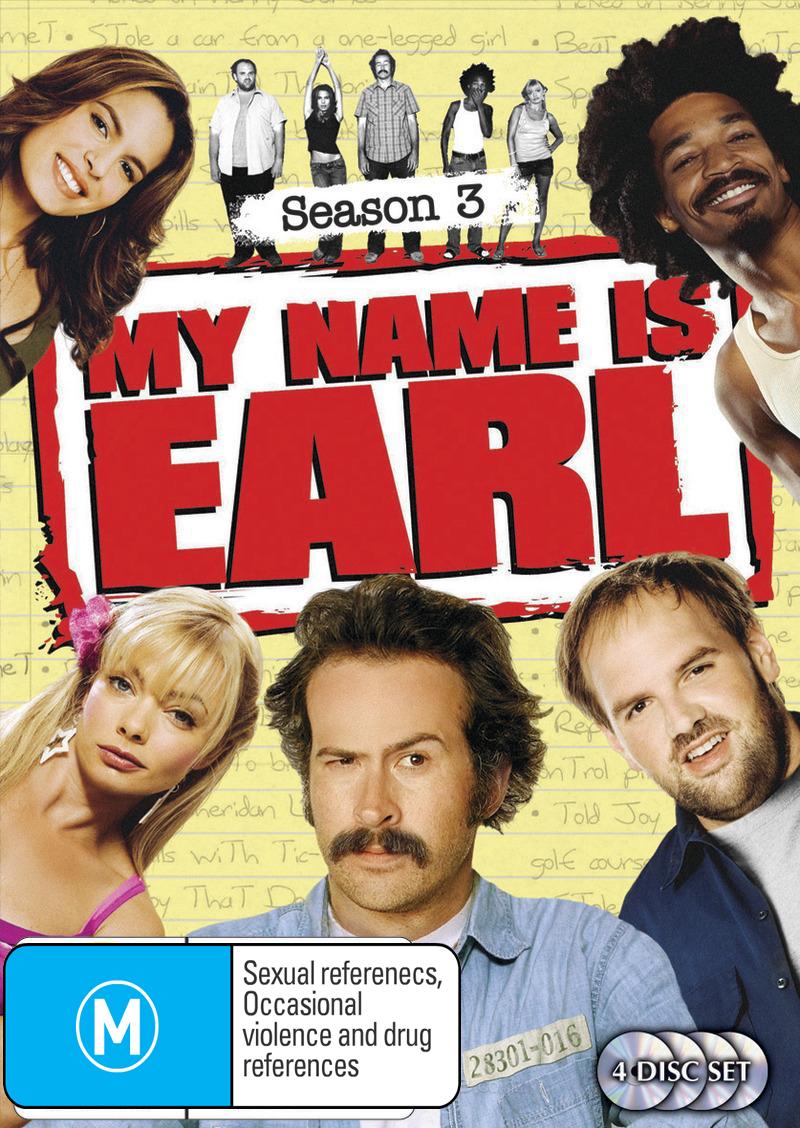 My Name Is Earl - Season 3 on DVD image