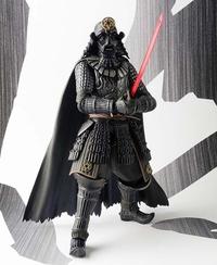 Movie Realization Samurai Darth Vader Action Figure