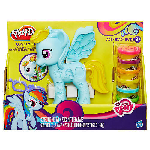 Play-Doh: My Little Pony Rainbow Dash Style Salon image