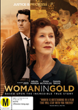 The Woman in Gold on DVD