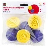 EC Colours - Match-it Pattern Stamper - Pack of 6 (Set B)