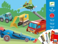 Djeco: Paper Toys - Trucks