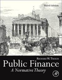Public Finance by Richard W. Tresch