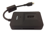 Ednet OTG USB 2.0 Hub & Card Reader for Smartphones and Tablets