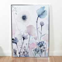 Framed Canvas - Poppies (65 x 92.5cm)