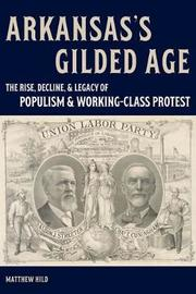 Arkansas's Gilded Age by Matthew Hild image