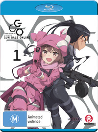 Sword Art Online Alternative: Gun Gale Online Part 1 (Eps 1-6) on Blu-ray
