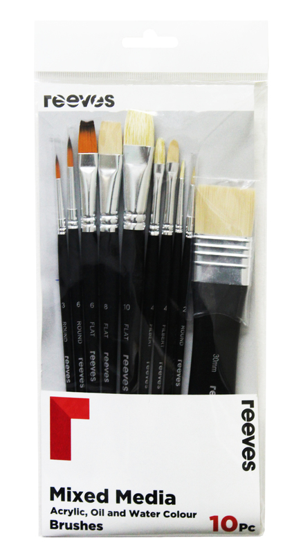 Reeves Mixed Media Brush - Set of 10
