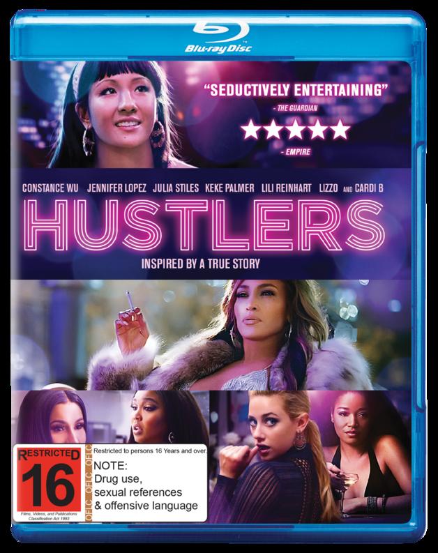 Hustlers on Blu-ray