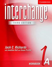 Interchange Workbook 1A: Workbook 1A by Jack C Richards image