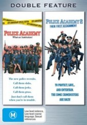 Police Academy / Police Academy 2 - Double Feature (2 Disc Set) on DVD